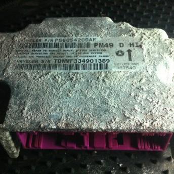 Блок управления Airbag SRS Додж Калибр