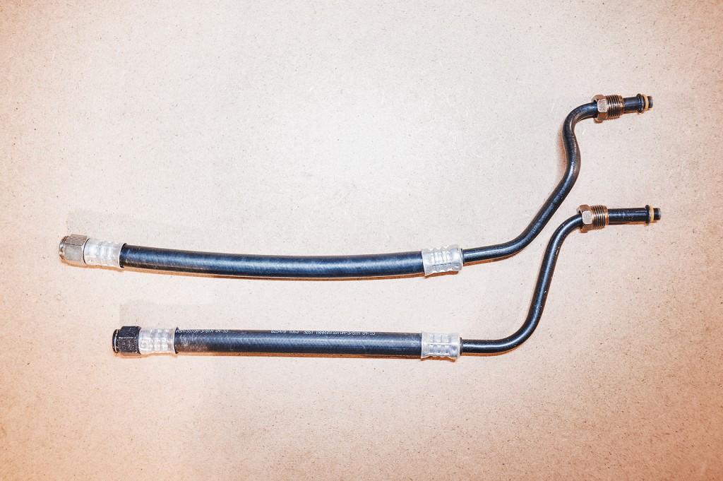 Новые трубки маслоохладителя (дорестайл)