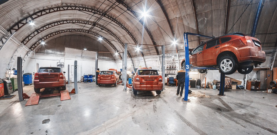 5 машин одного цвета – не проблема для ТРС-Моторс