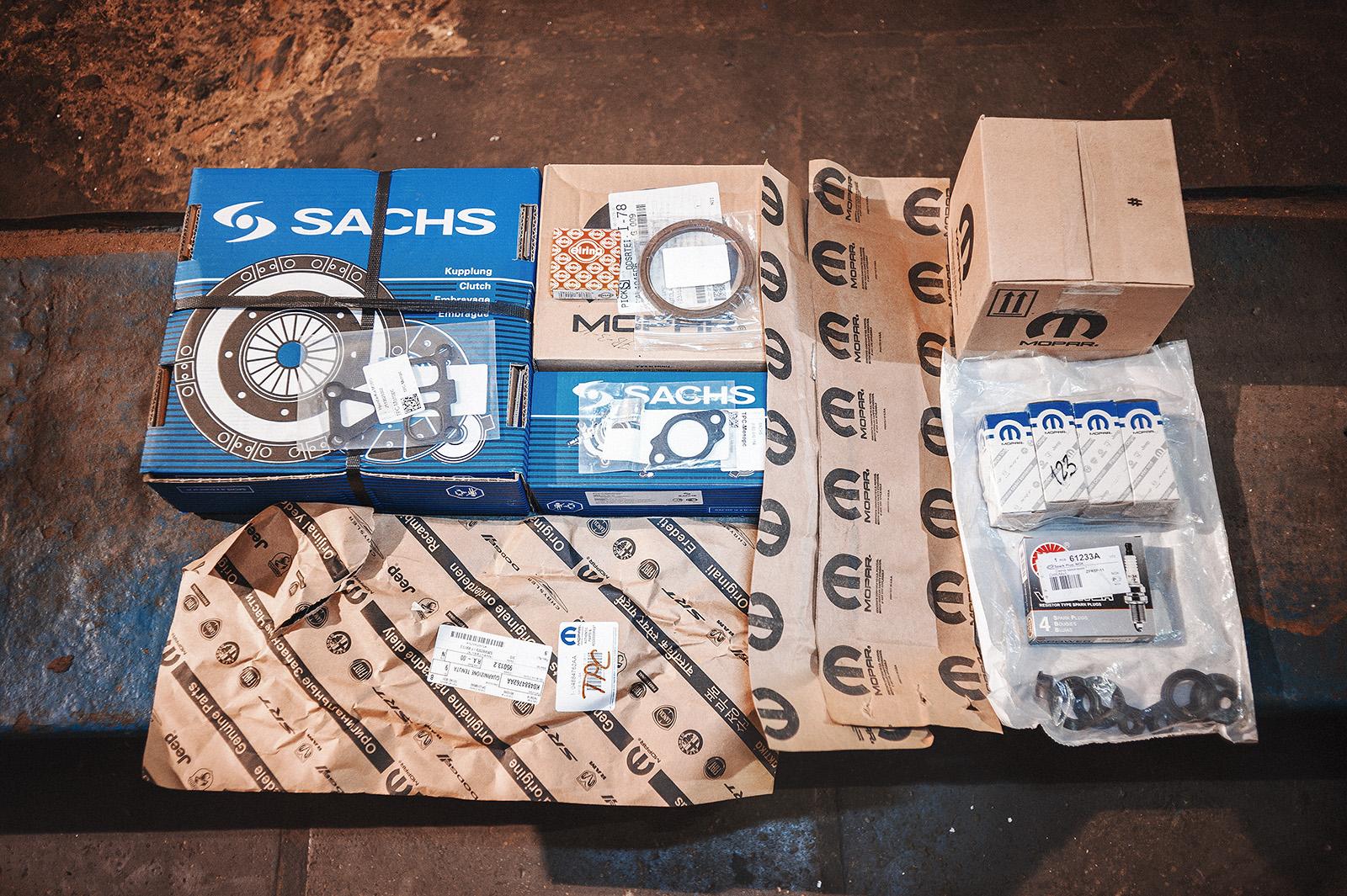 Полный комплект для обслуживания двигателя и МКПП