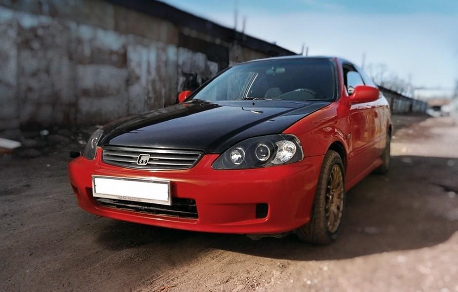 Honda Civic и восстановление резьбы
