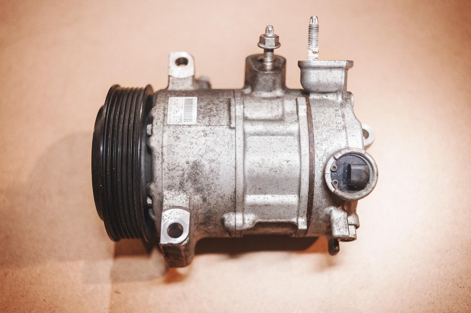 схема приводной компрессор для авто
