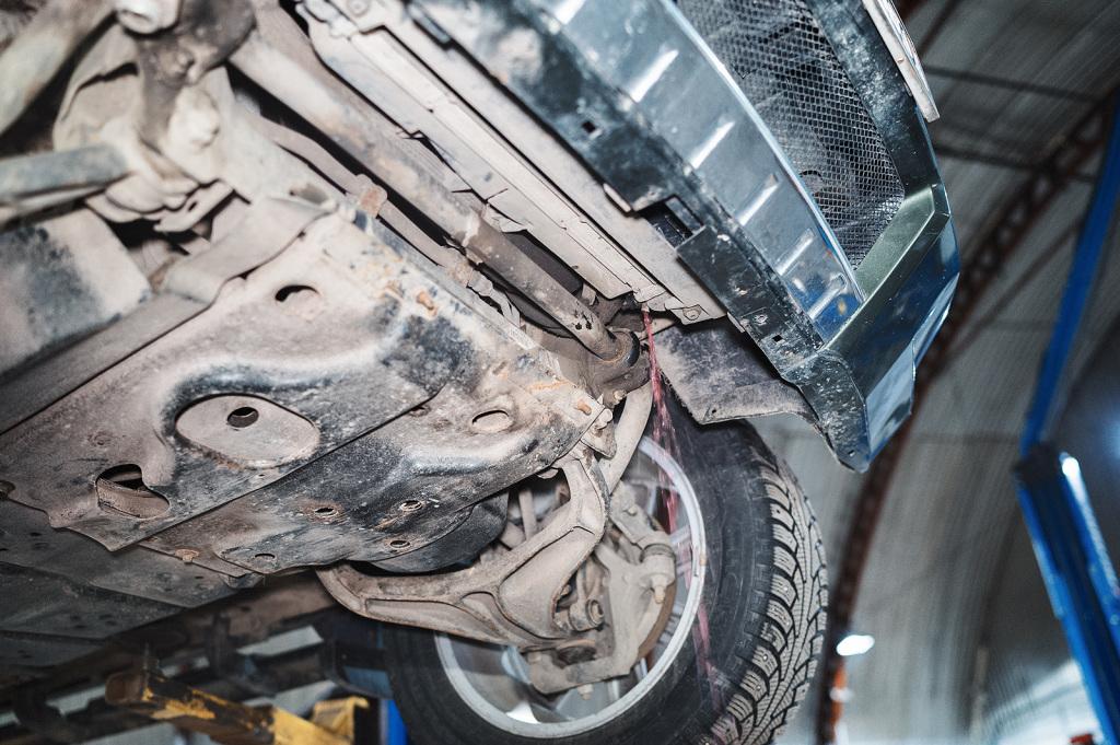 Сливаем грязь из системы охлаждения Джип Чероки