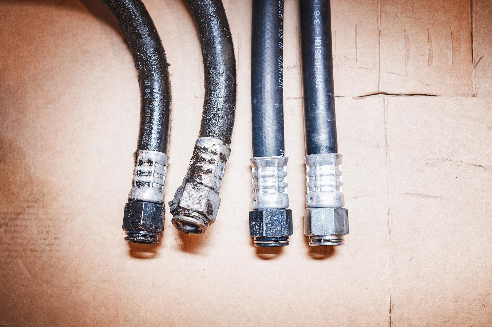Текущие трубки вариатора подлежат замене