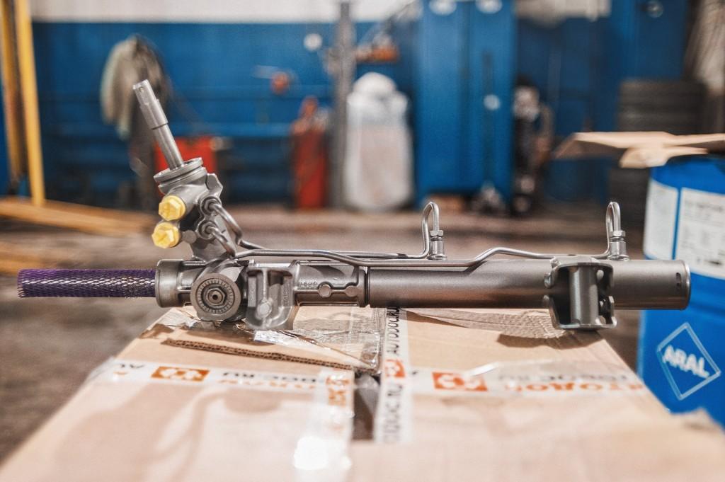 Восстановленная рулевая рейка Додж Калибр