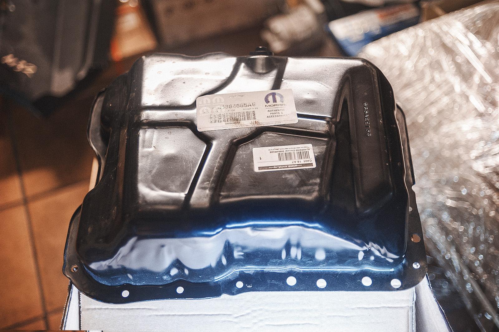 Масляный поддон двигателя Додж Калибр (2,0 литра)