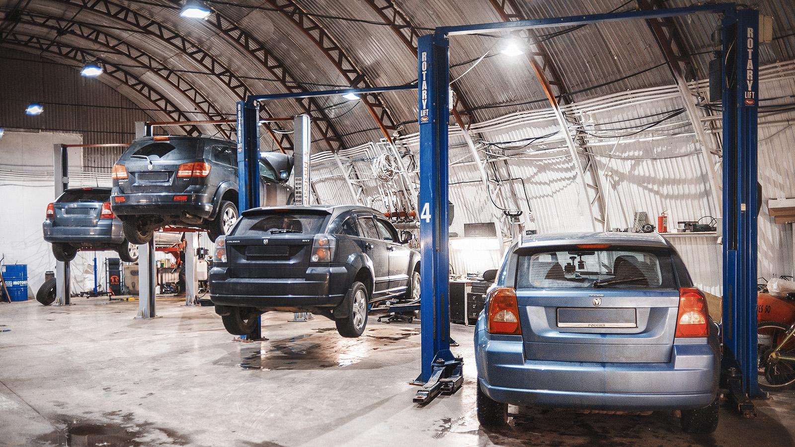 Новая рабочая зона ТРС-Моторс