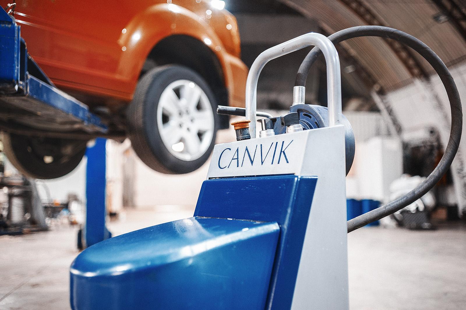 Аппарат для проточки тормозных дисков Canvik A5