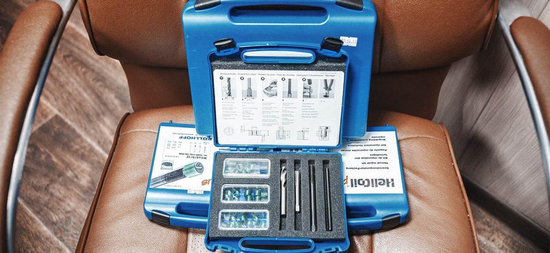 Установочный комплект резьбовых вставок Helicoil