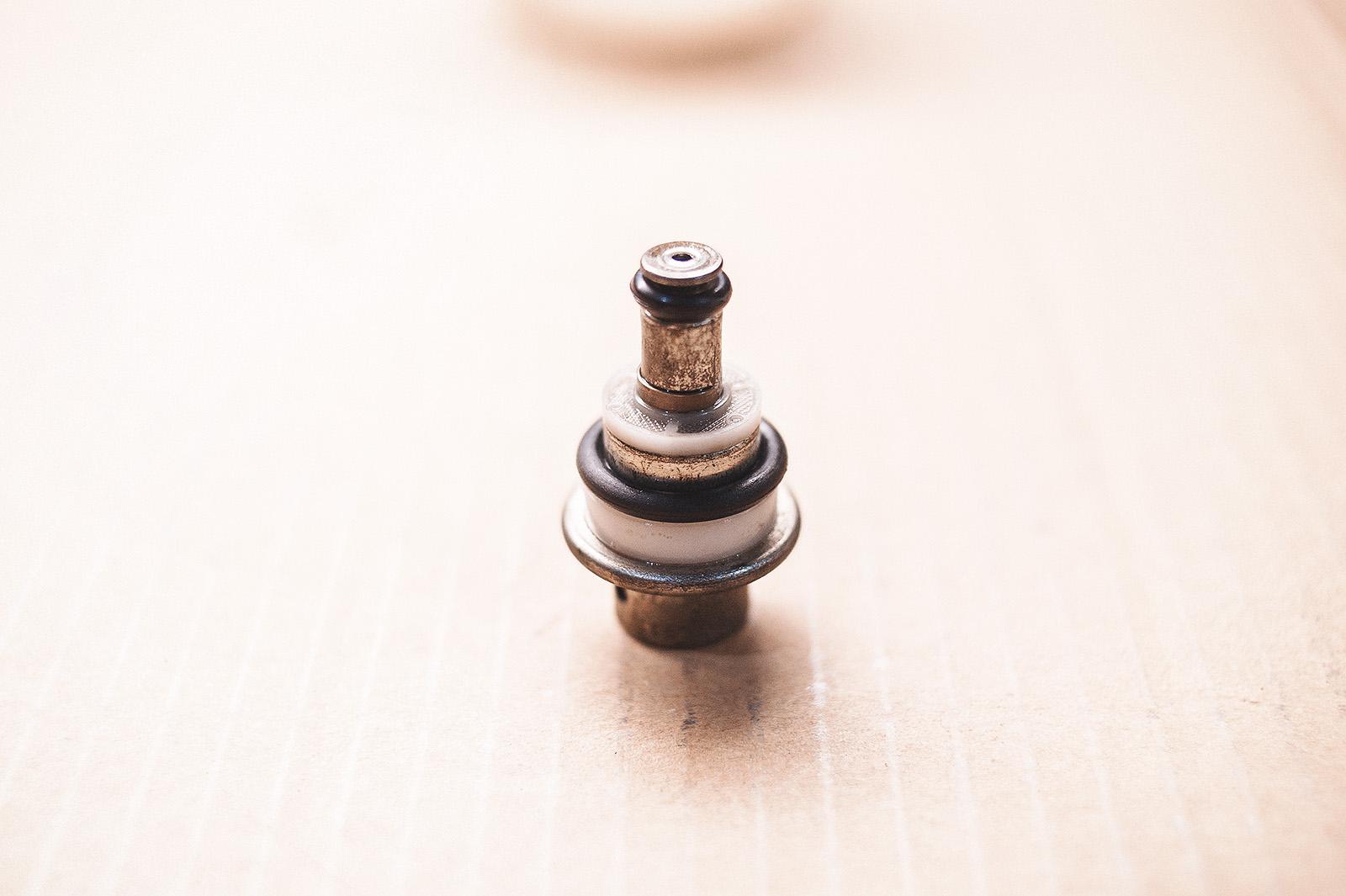 Редукционный клапан топливного насоса