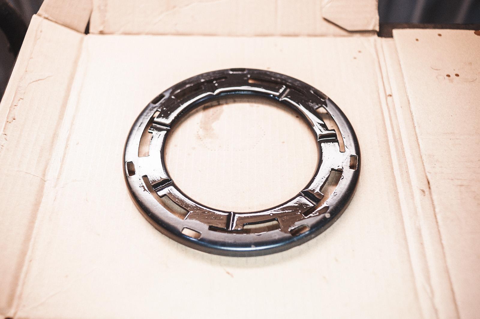 Стопорное кольцо топливной станции