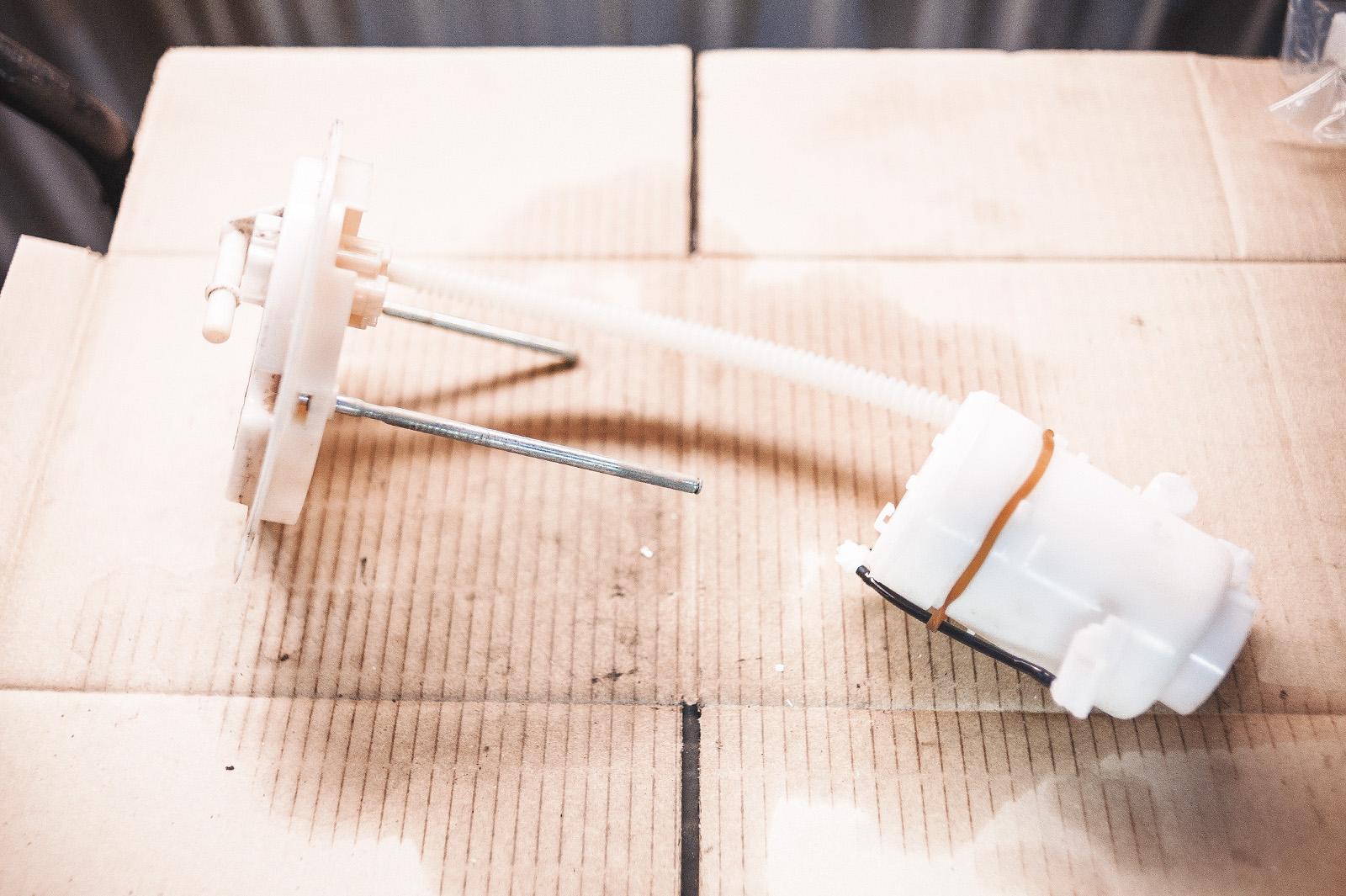 Новая топливная термоусадочная трубка вместо комплектной