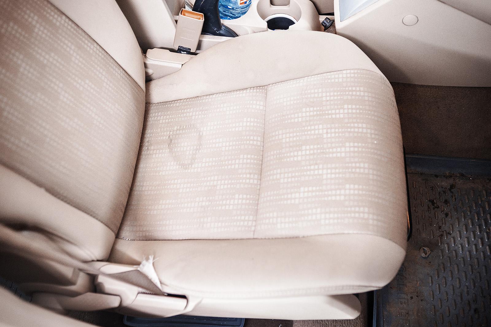 Пассажирское сиденье не лучше