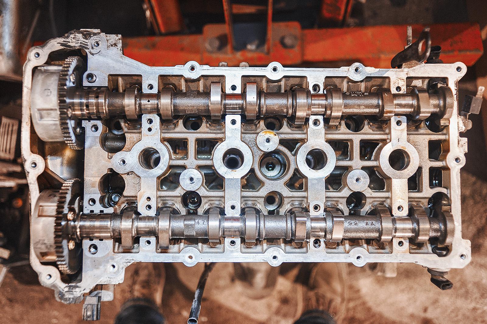 С виду – практически новый двигатель