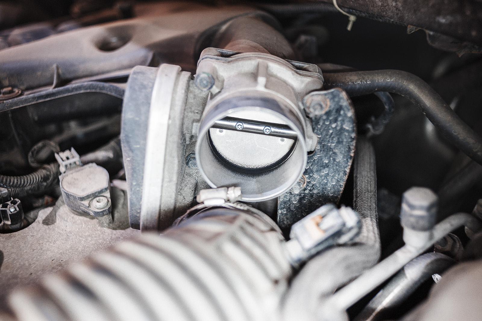 Полгода после чистки дроссельной заслонки Chrysler 300C