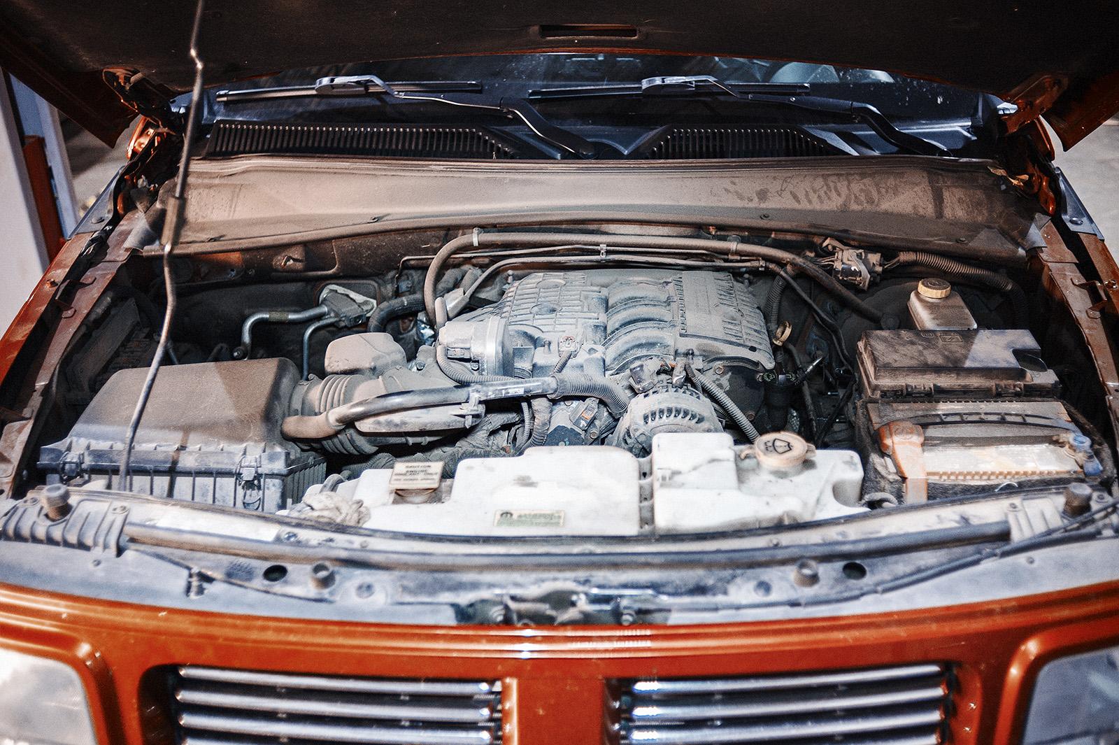 Даём двигателю немного остыть перед работой