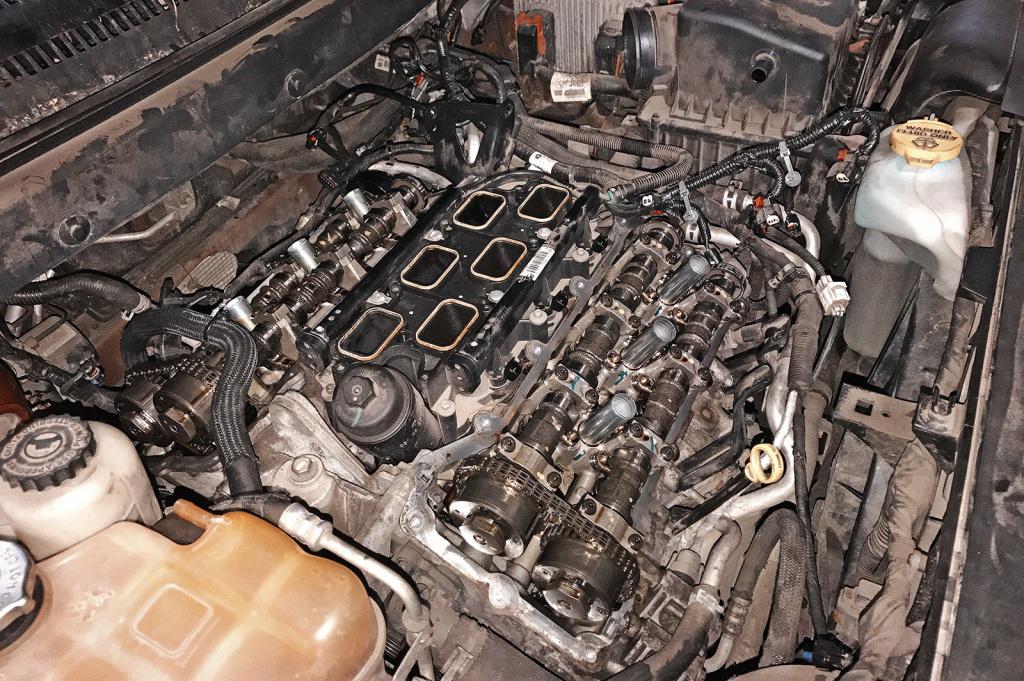Диагностируем двигатель Додж Джорни 3.6