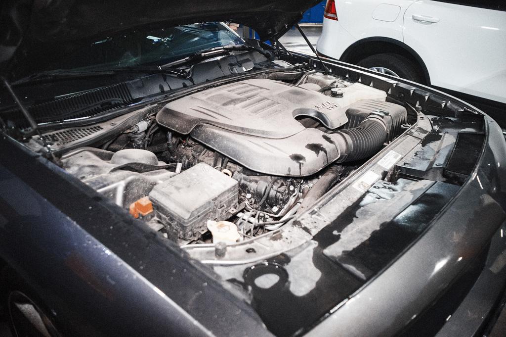 Машина свежая, а пыль под капотом вековая