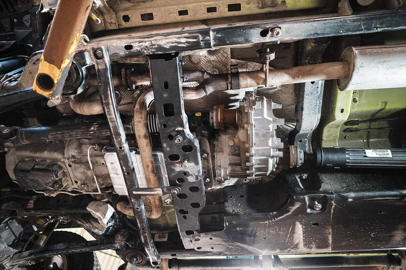 Ремонт АКПП Джип Вранглер 3 6 NAG1 W5A580 - TRS-MOTORS