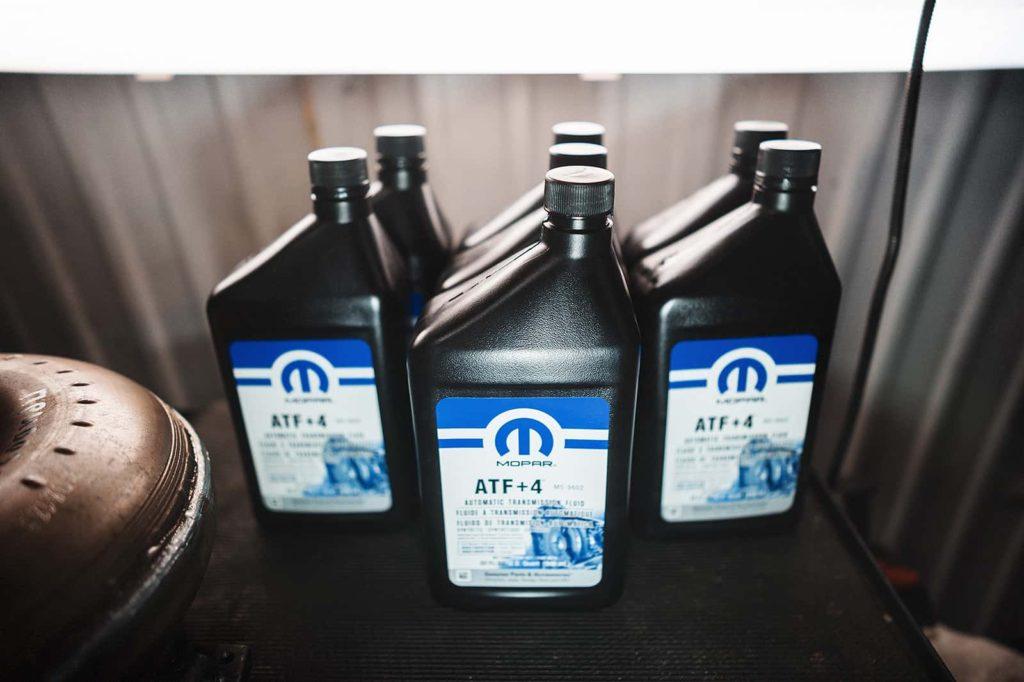 ATF+4 – универсальная жидкость концерна Крайслер