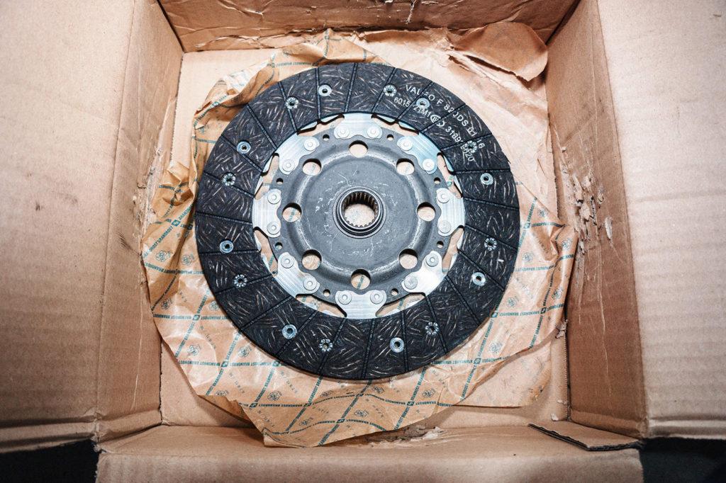 Новый диск сцепления SRT4