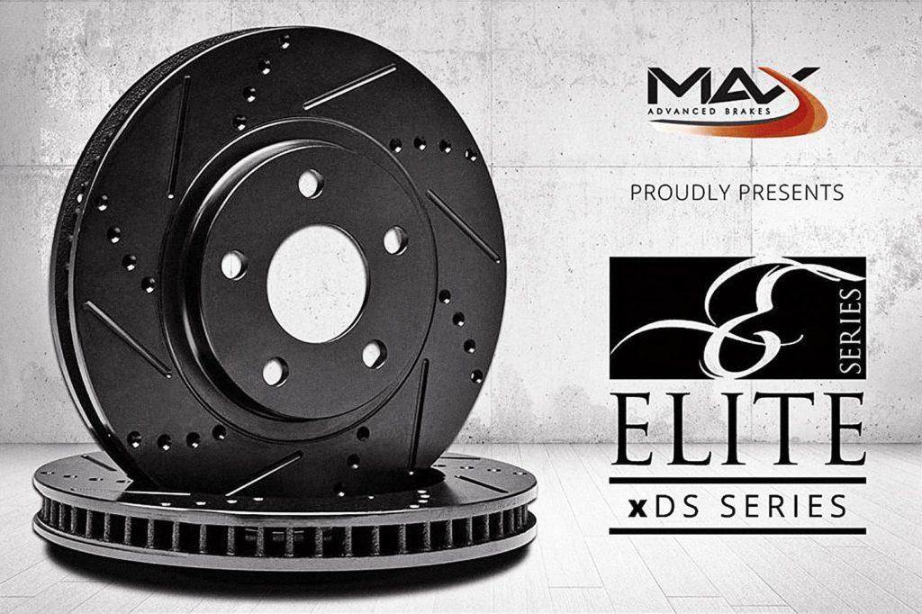 Фотография тормозных дисков Max Brakes с официального сайта