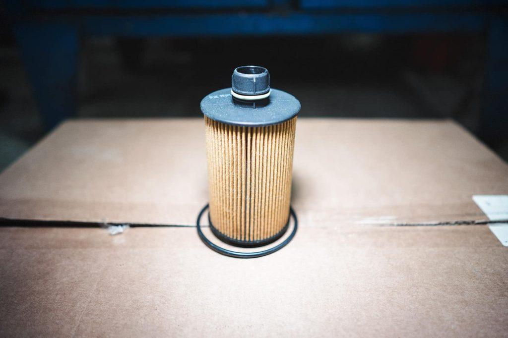 Новый масляный фильтр