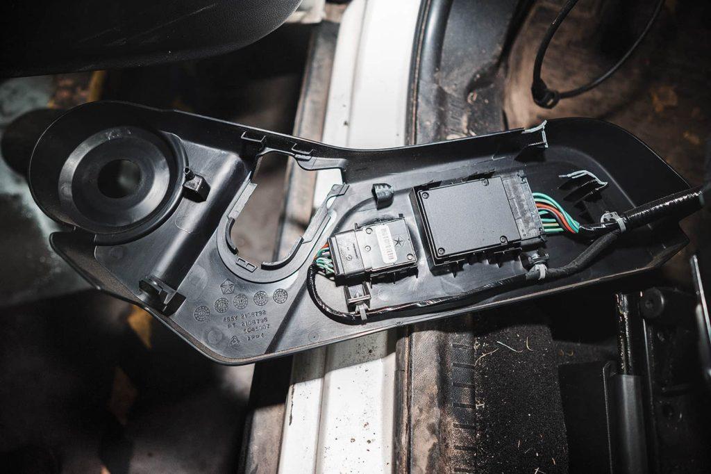 Блоки управления водительским креслом