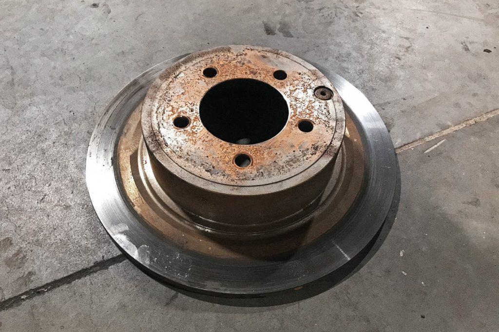 Тормозной диск работает не на пределе своих возможностей