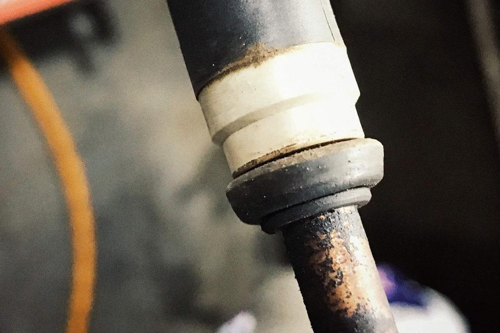 Прокладки топливных форсунок стали конусными из круглых
