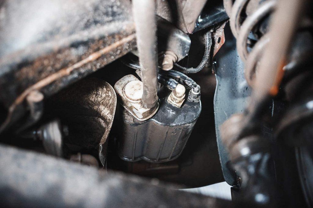 Источник ошибки P0455 – датчик улавливания паров бензина