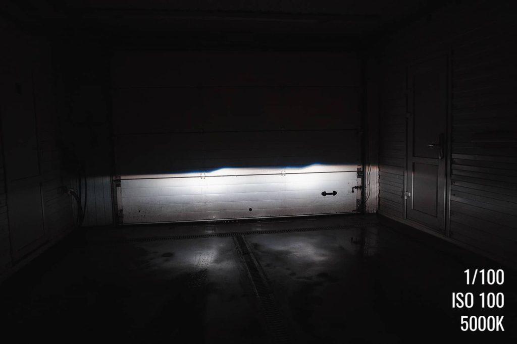Чёткий контур, никаких засветок на встречную полосу