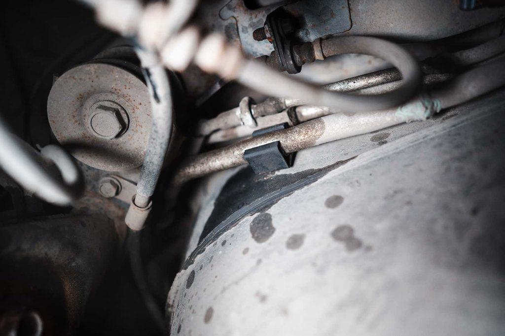 Трубки кондиционера потекли в районе ремонтного стыка