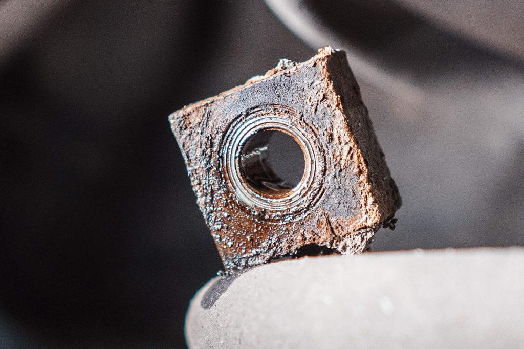 Привалочная поверхность тормозного шланга