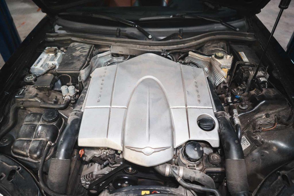 Верхняя крышка двигателя 3.2