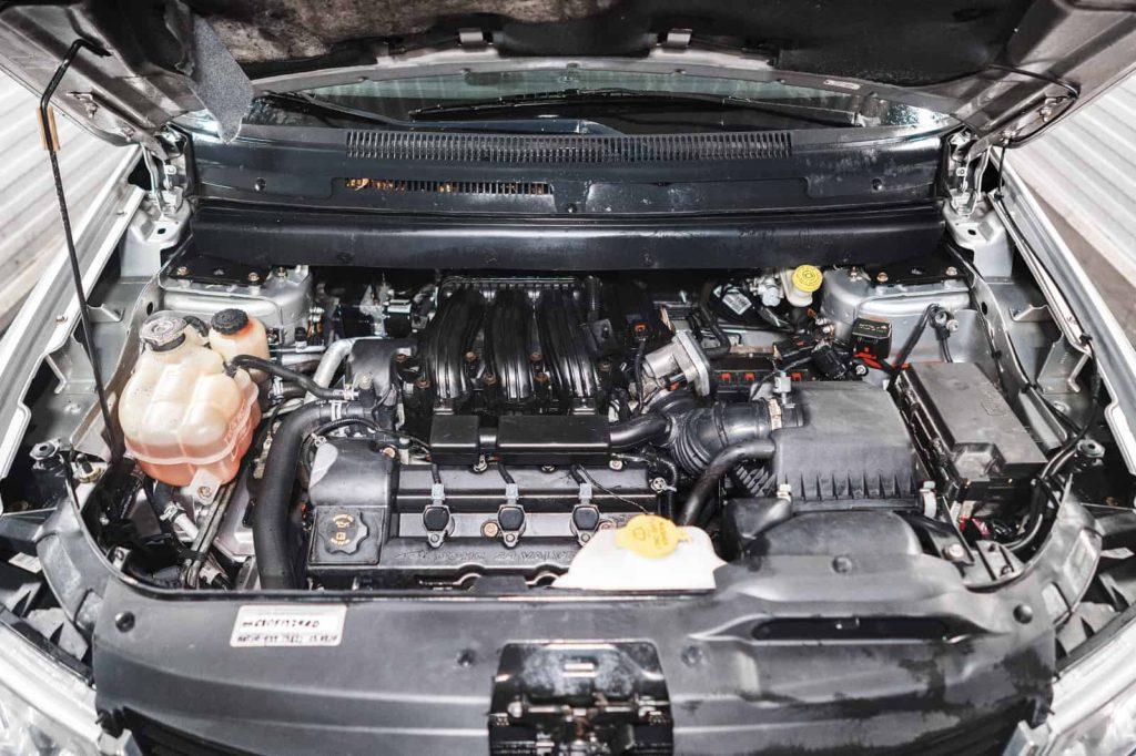 Отмываем двигатель перед выдачей